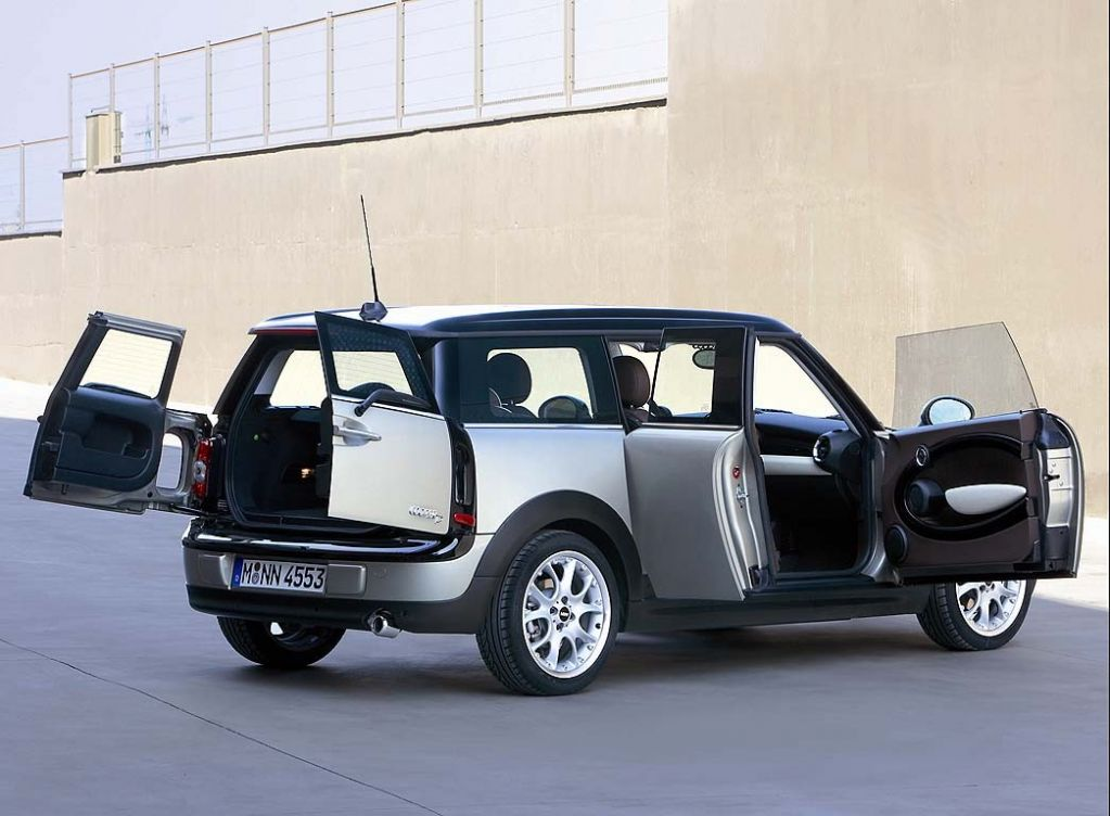 2008 mini cooper clubman pictures photos gallery green car reports. Black Bedroom Furniture Sets. Home Design Ideas