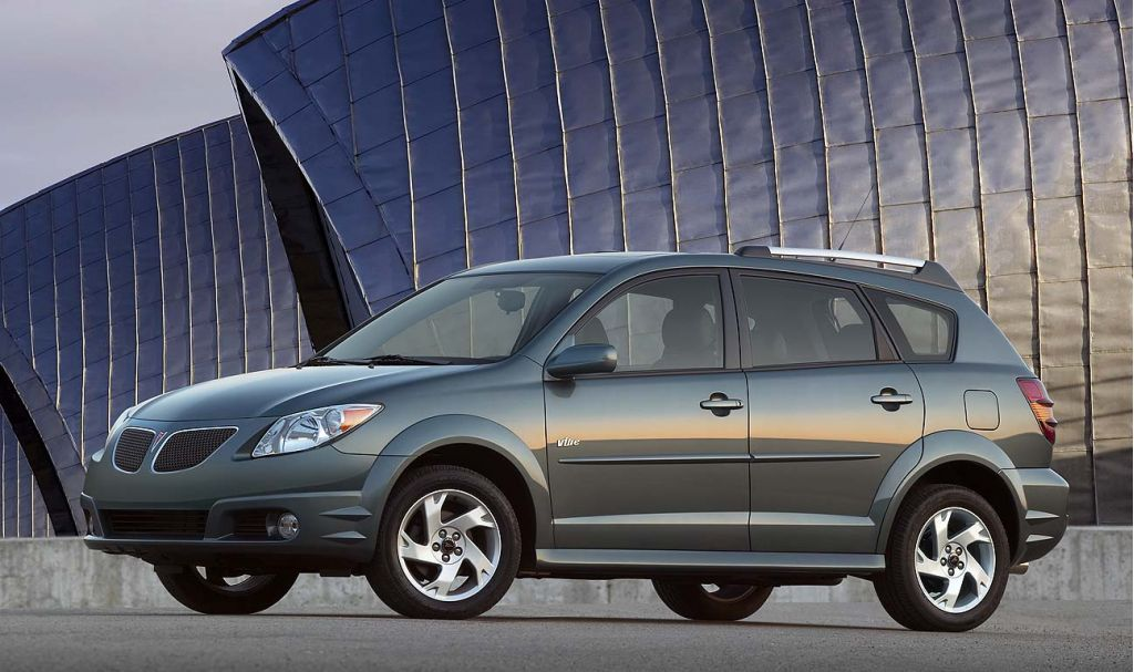 2008 Pontiac Vibe Pictures Photos Gallery Green Car Reports