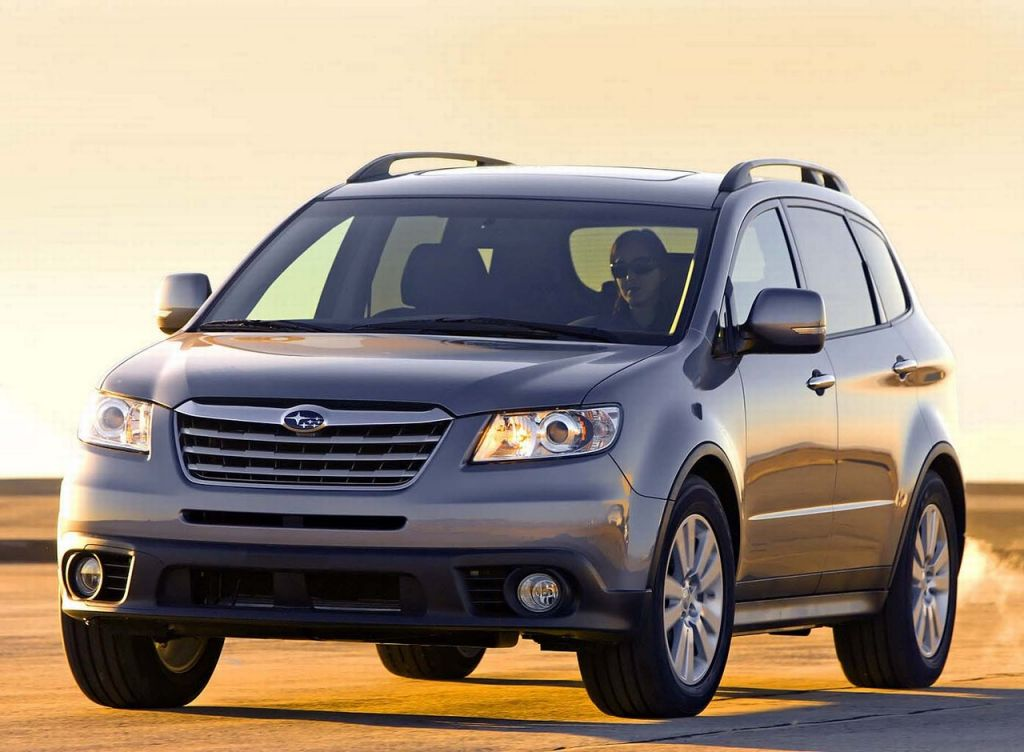 2008 subaru tribeca pictures photos gallery the car. Black Bedroom Furniture Sets. Home Design Ideas