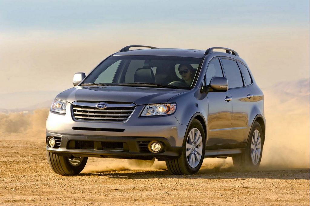 2008 subaru tribeca pictures photos gallery motorauthority. Black Bedroom Furniture Sets. Home Design Ideas