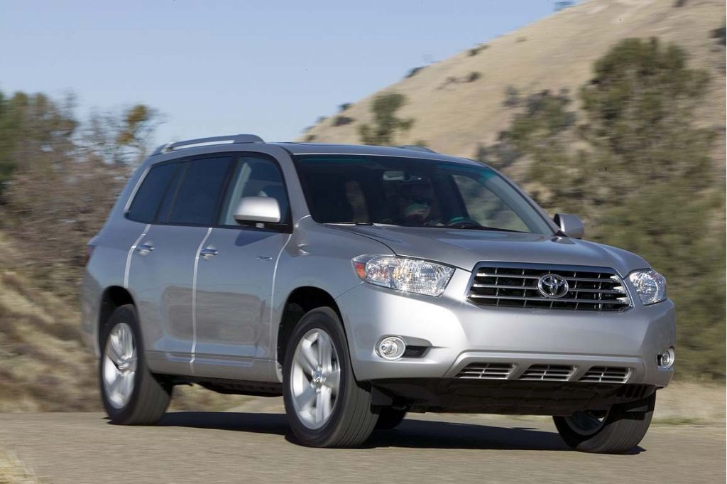 2008 Toyota Highlander Pictures Photos Gallery