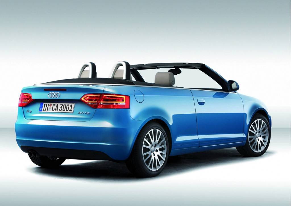 updated audi a3 cabrio video and gallery. Black Bedroom Furniture Sets. Home Design Ideas