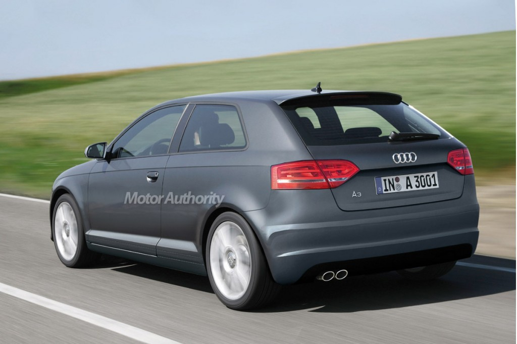 preview 2009 audi a3 facelift and sportback. Black Bedroom Furniture Sets. Home Design Ideas