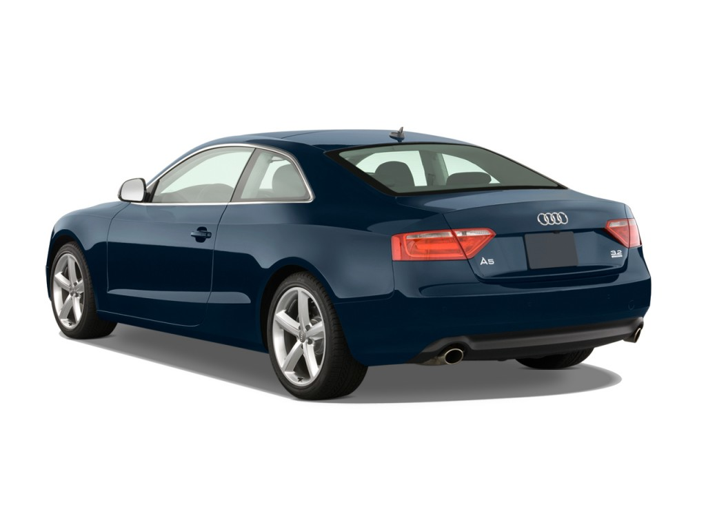 image 2009 audi a5 2 door coupe auto angular rear. Black Bedroom Furniture Sets. Home Design Ideas