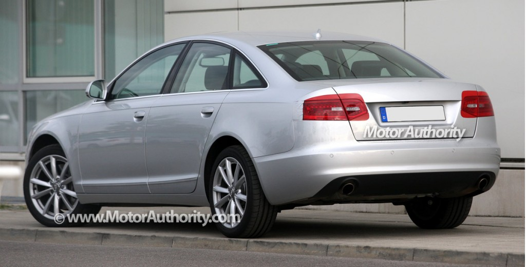 update 2009 audi a6 range facelift spy shots. Black Bedroom Furniture Sets. Home Design Ideas