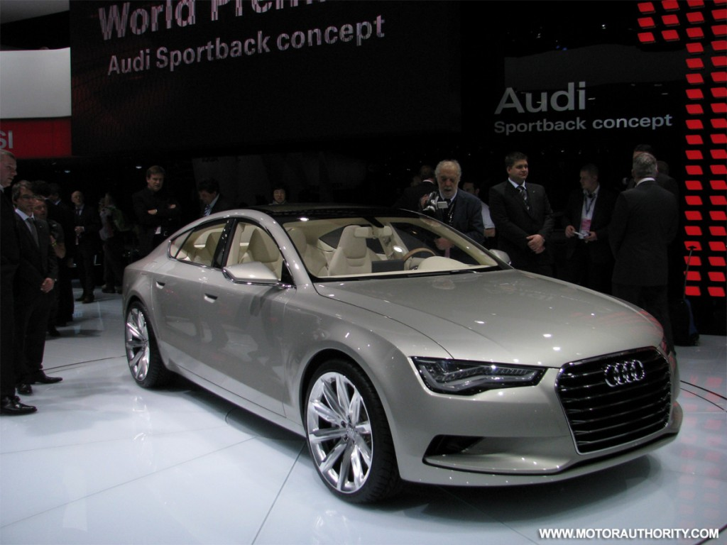 image 2009 audi a7 sportback concept live 08 size 1024 x 768 type gif posted on january. Black Bedroom Furniture Sets. Home Design Ideas