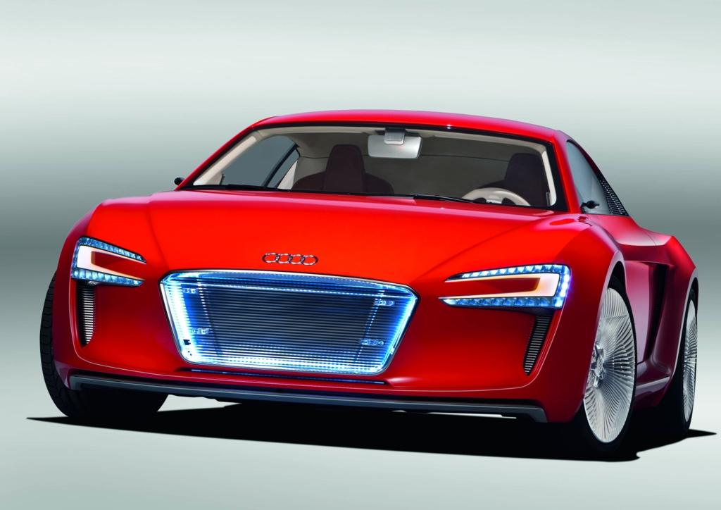 2009 audi r8 e tron concept official details. Black Bedroom Furniture Sets. Home Design Ideas