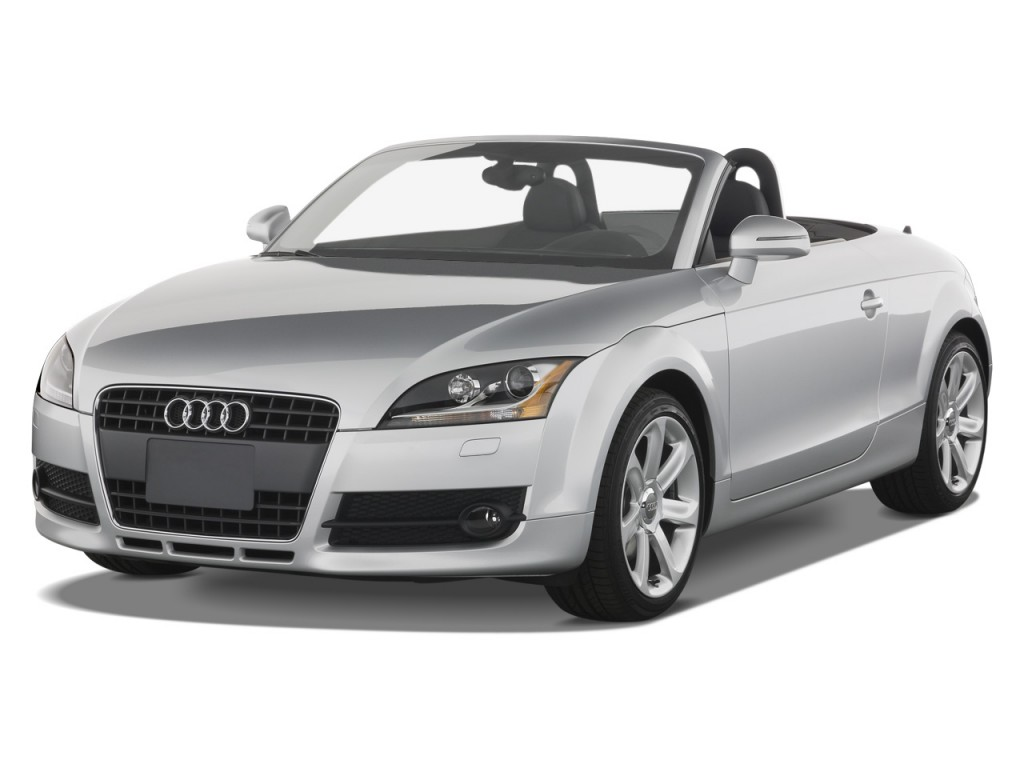 2009 audi tt 2 door rdstr at 2 0t fronttrak prem angular front exterior view. Black Bedroom Furniture Sets. Home Design Ideas
