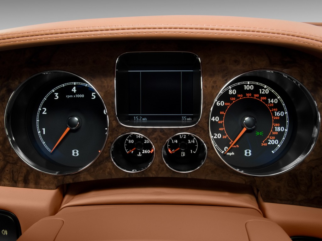 Image 2009 Bentley Continental Flying Spur 4 Door Sedan Instrument Cluster Size 1024 X 768