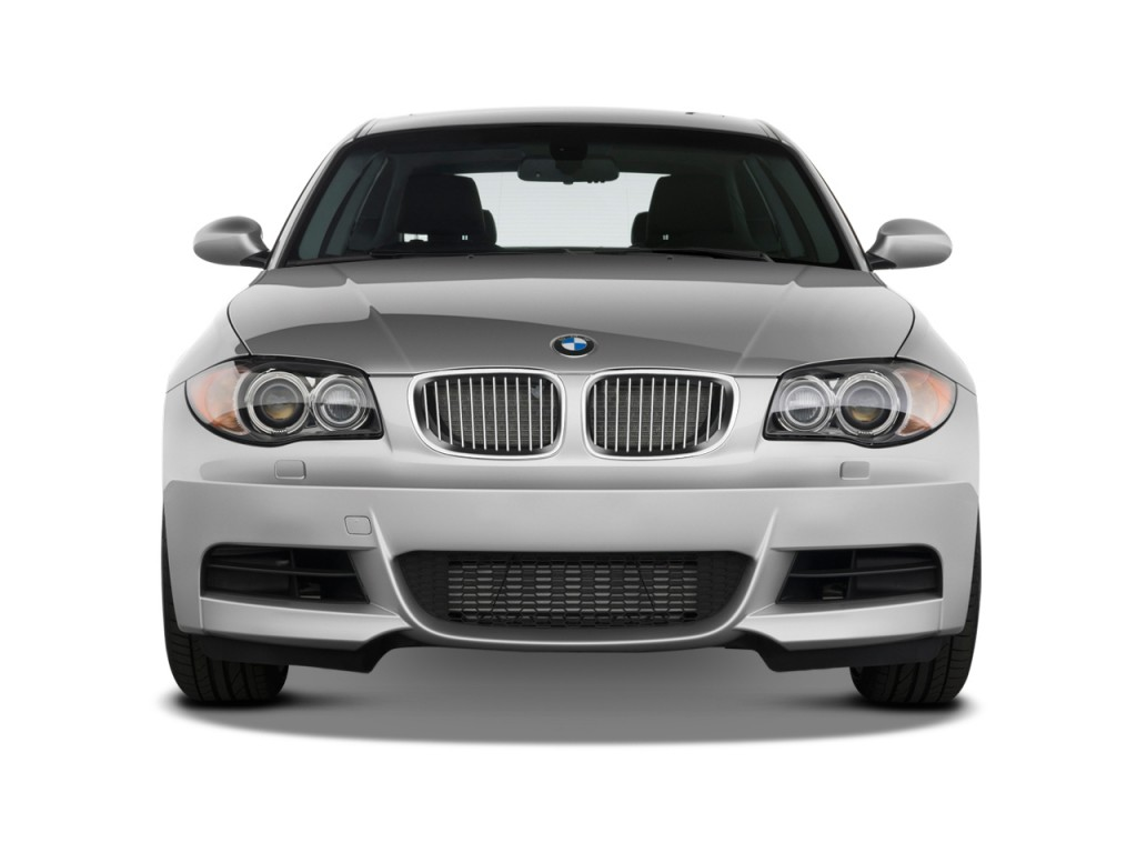2009 bmw 1 series 2 door coupe 135i front exterior view. Black Bedroom Furniture Sets. Home Design Ideas