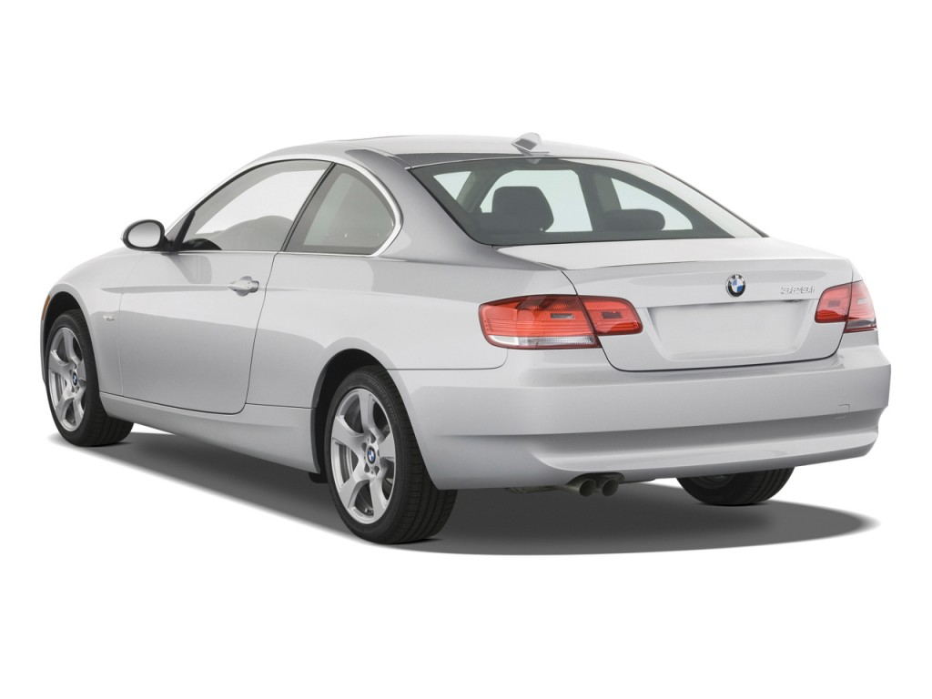 Image 2009 Bmw 3 Series 2 Door Coupe 328i Rwd Angular Rear Exterior View Size 1024 X 768