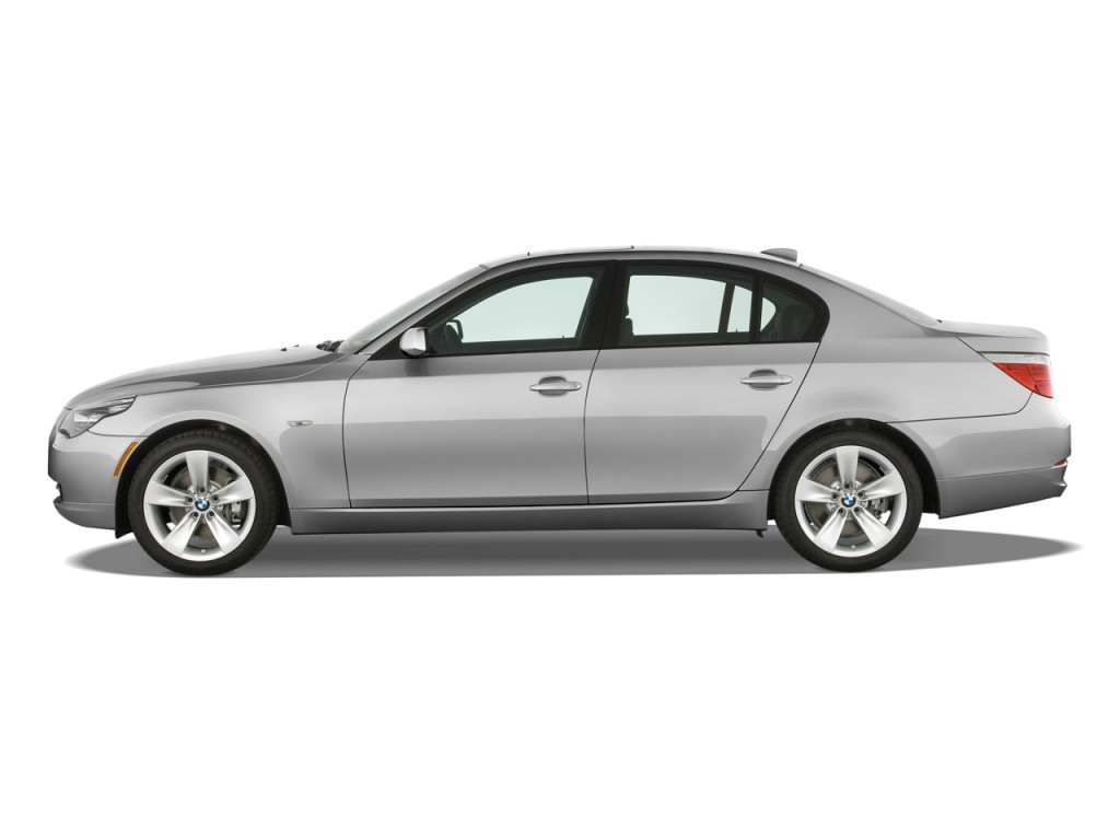 Image 2009 Bmw 5 Series 4 Door Sedan 528i Rwd Side