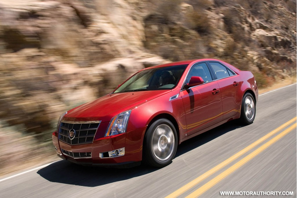 2009 Cadillac Cts Pictures Photos Gallery Motorauthority