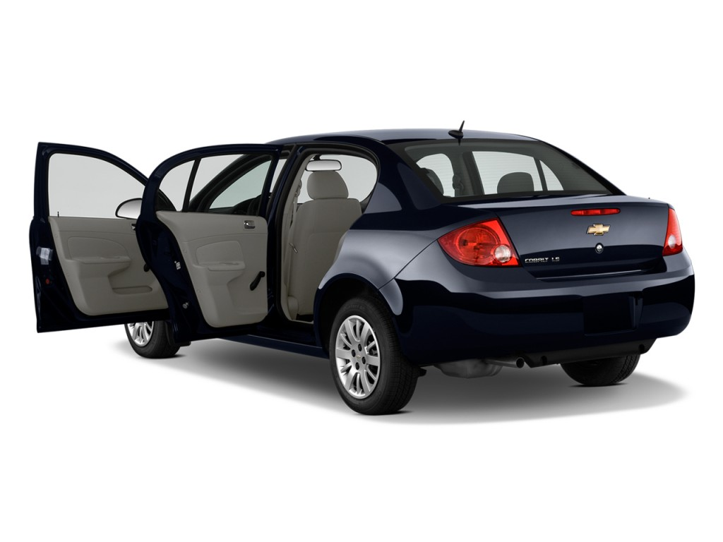 image 2009 chevrolet cobalt 4 door sedan ls open doors. Black Bedroom Furniture Sets. Home Design Ideas