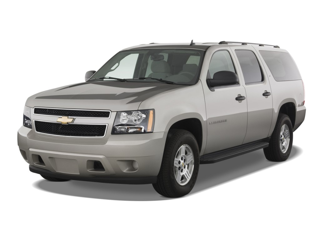 image 2009 chevrolet suburban 2wd 4 door 1500 ls angular. Black Bedroom Furniture Sets. Home Design Ideas