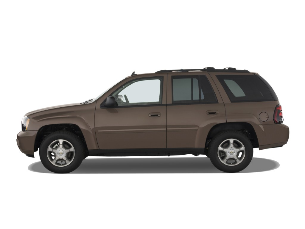 Image 2009 Chevrolet Trailblazer 2wd 4 Door Lt W 3lt Side Exterior View Size 1024 X 768 Type