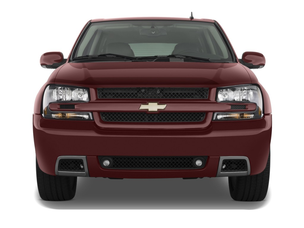 2009 chevrolet trailblazer 2wd 4 door ss front exterior view. Black Bedroom Furniture Sets. Home Design Ideas
