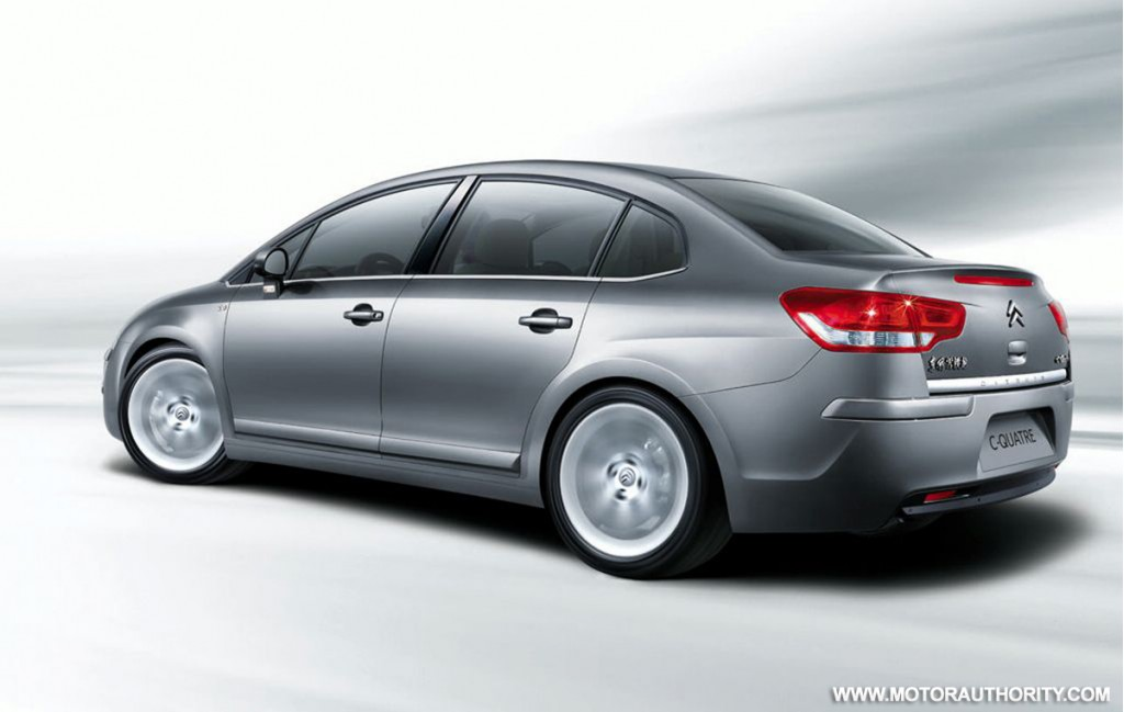 citroen previews c4 sedan facelift at shanghai motor show. Black Bedroom Furniture Sets. Home Design Ideas