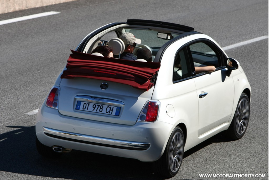 2012 fiat 500c making u s debut at 2011 new york auto show. Black Bedroom Furniture Sets. Home Design Ideas