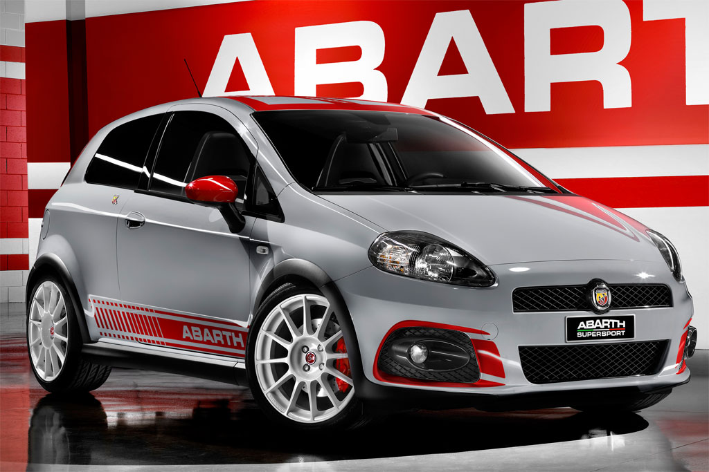 fiat updates the grande punto abarth ss for 2009. Black Bedroom Furniture Sets. Home Design Ideas