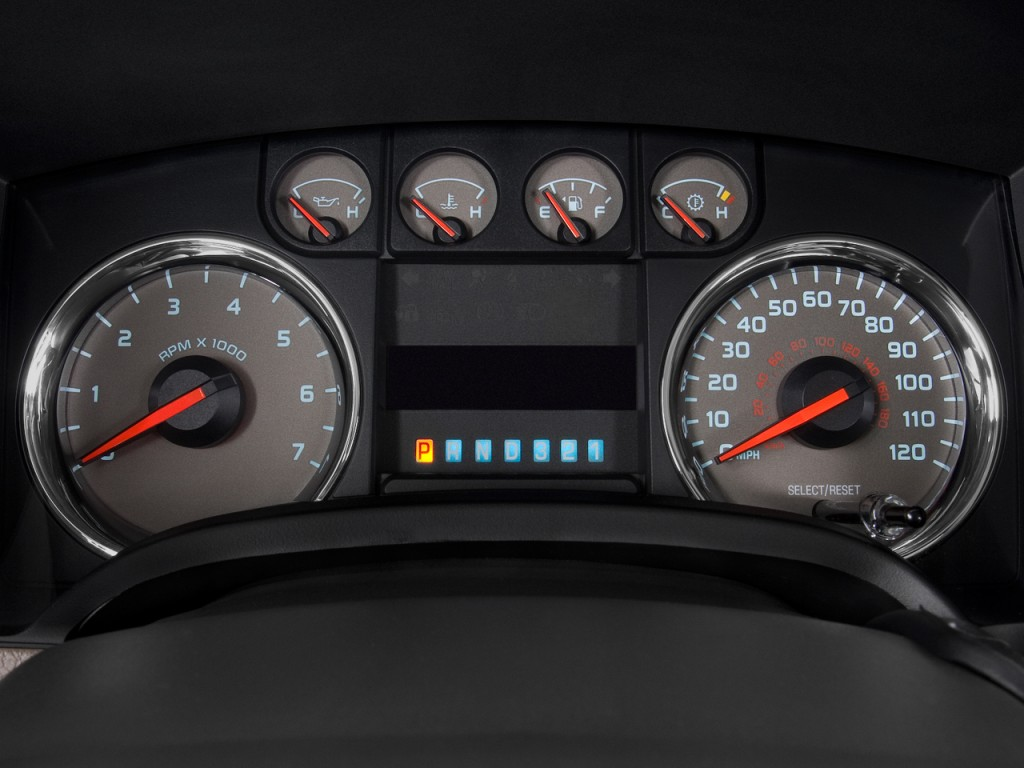 Image 2009 Ford F 150 2wd Supercrew 145 Quot Xlt Instrument