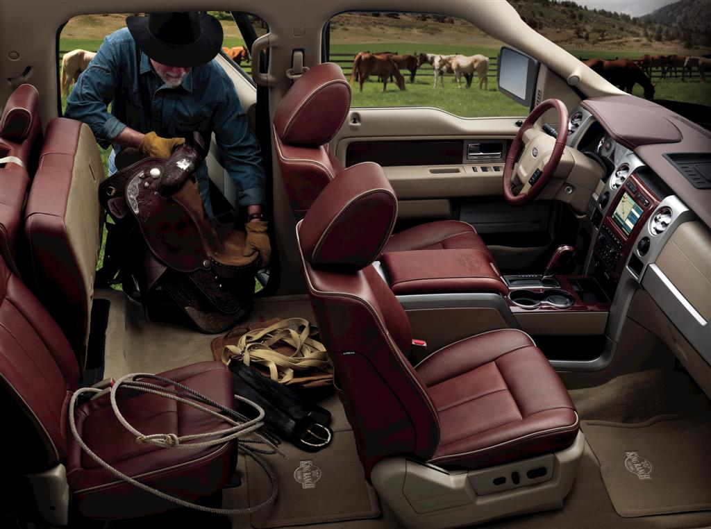 Image 2009 Ford F 150 King Ranch Interior Size 1024 X
