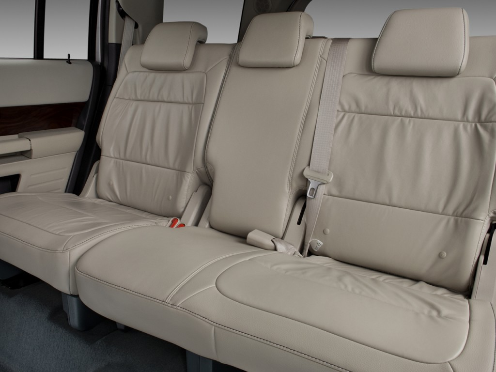 image 2009 ford flex 4 door sel fwd rear seats size. Black Bedroom Furniture Sets. Home Design Ideas