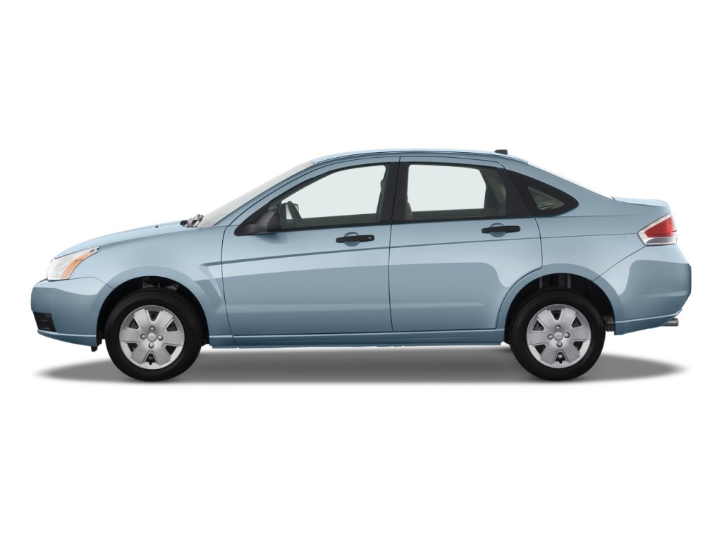 Image 2009 Ford Focus 4 Door Sedan S Side Exterior View