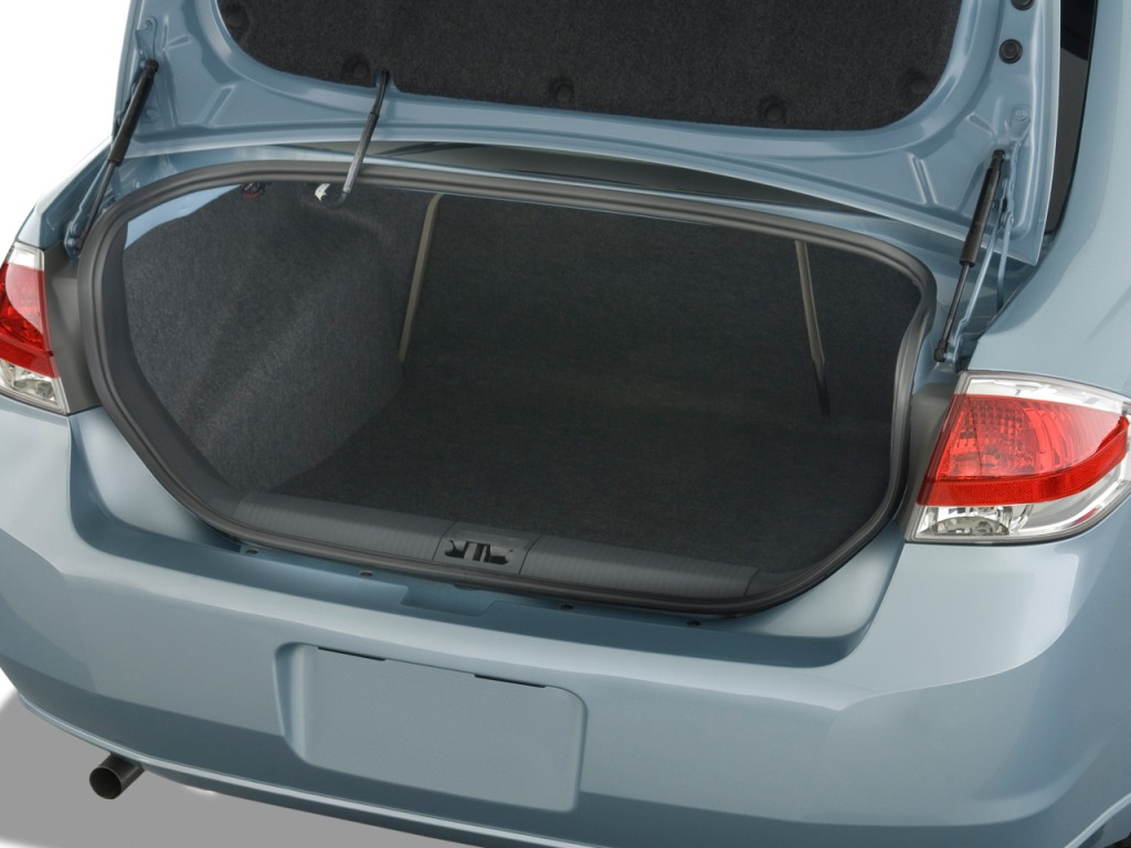 Image 2009 Ford Focus 4 Door Sedan S Trunk Size 1024 X