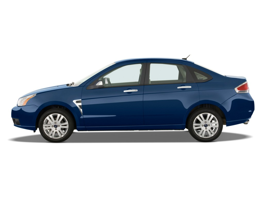 image 2009 ford focus 4 door sedan se side exterior view size 1024 x 768 type gif posted. Black Bedroom Furniture Sets. Home Design Ideas