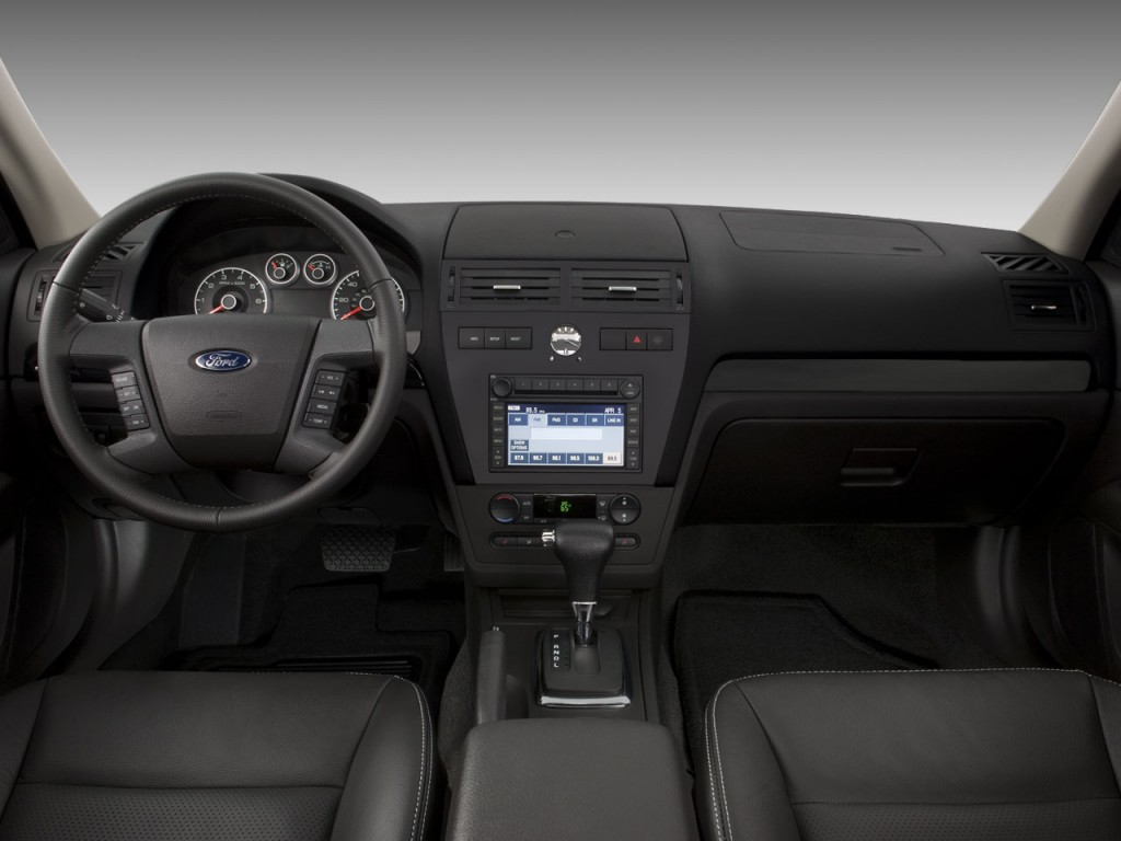 Image 2009 ford fusion 4 door sedan v6 sel fwd dashboard size 1024 x 768 type gif posted