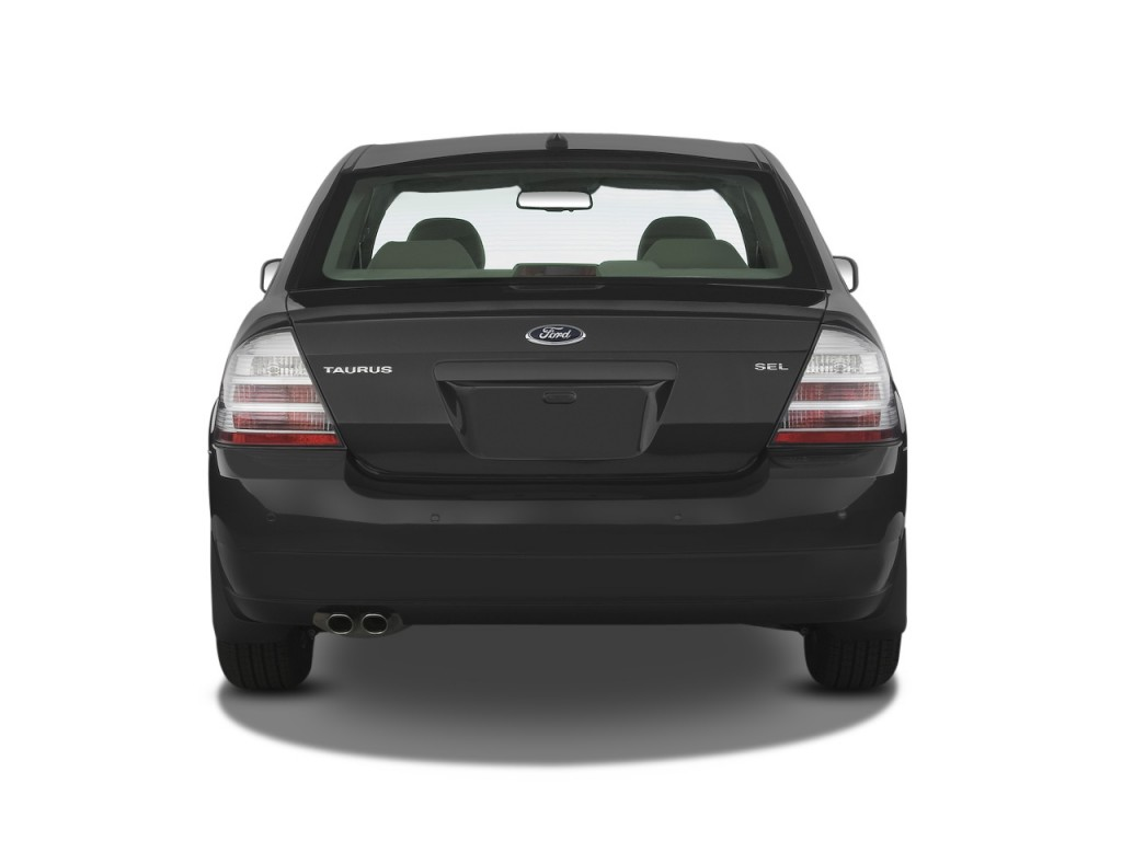 Image 2009 ford taurus 4 door sedan sel fwd rear exterior for Rear exterior door