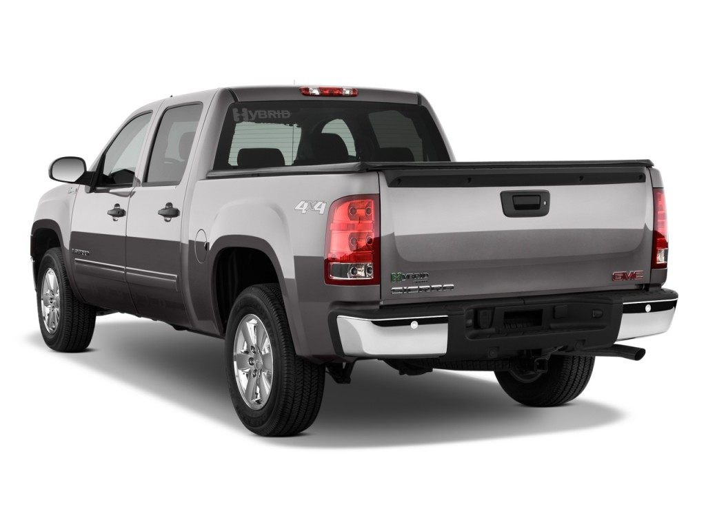 2009 gmc sierra 1500 hybrid pictures photos gallery motorauthority. Black Bedroom Furniture Sets. Home Design Ideas