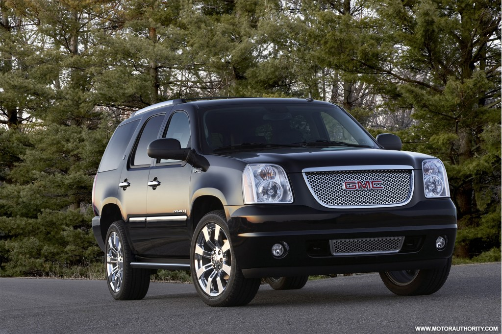2009 gmc yukon hybrid denali pictures photos gallery green car reports. Black Bedroom Furniture Sets. Home Design Ideas