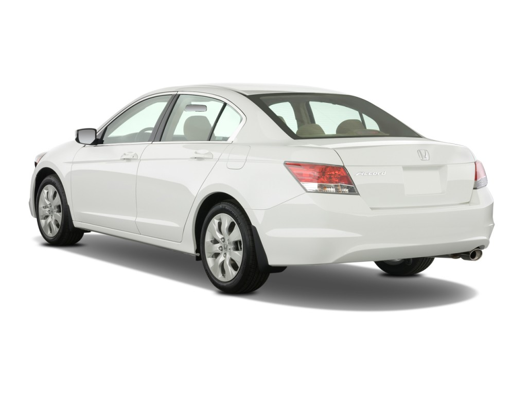 2009 Honda Accord Sedan 4 Door I4 Auto Ex Angular Rear