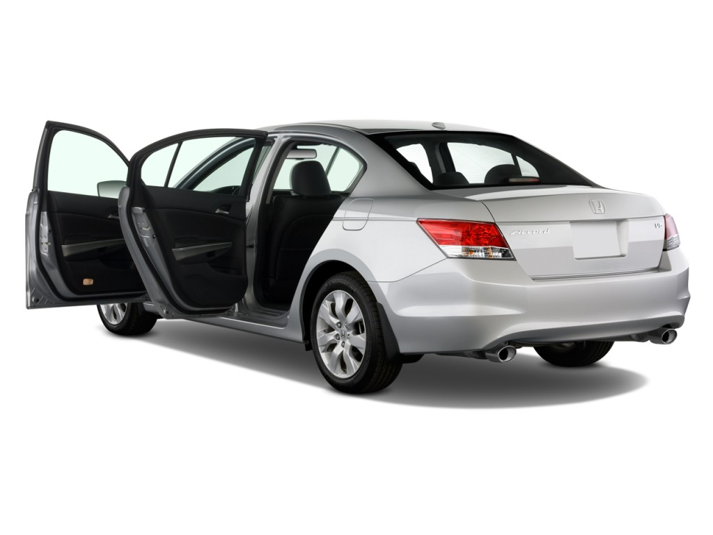 2009 honda accord sedan 4 door v6 auto ex l open doors for 09 2 door honda accord
