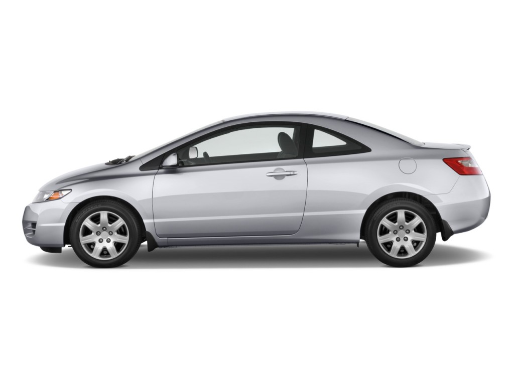 image 2009 honda civic coupe 2 door auto lx side exterior view size 1024 x 768 type gif. Black Bedroom Furniture Sets. Home Design Ideas