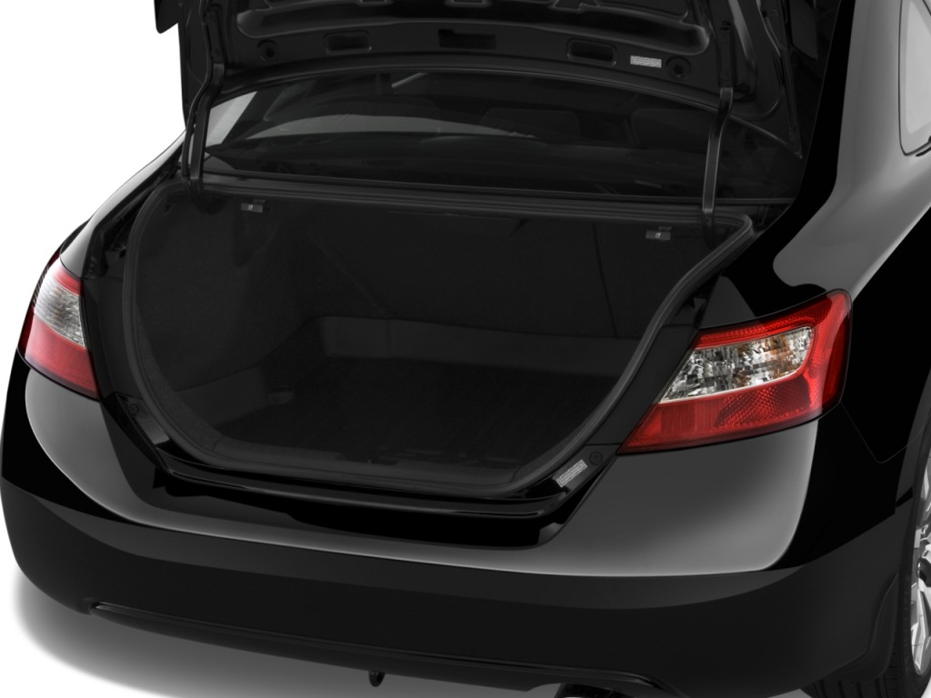 Image 2009 honda civic coupe 2 door man si trunk size for Honda civic trunk