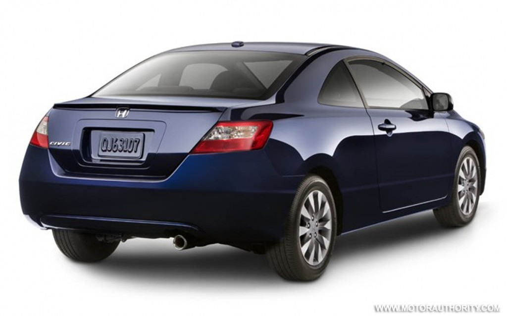 2009 honda civic coupe revealed. Black Bedroom Furniture Sets. Home Design Ideas