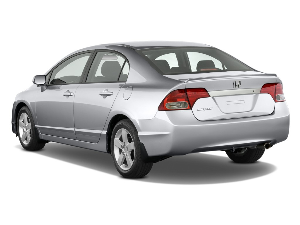 Image 2009 Honda Civic Sedan 4 Door Auto Lx S Angular Rear Exterior View Size 1024 X 768