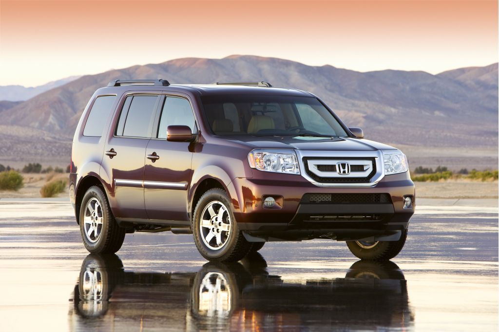 2009 honda pilot pictures photos gallery motorauthority. Black Bedroom Furniture Sets. Home Design Ideas