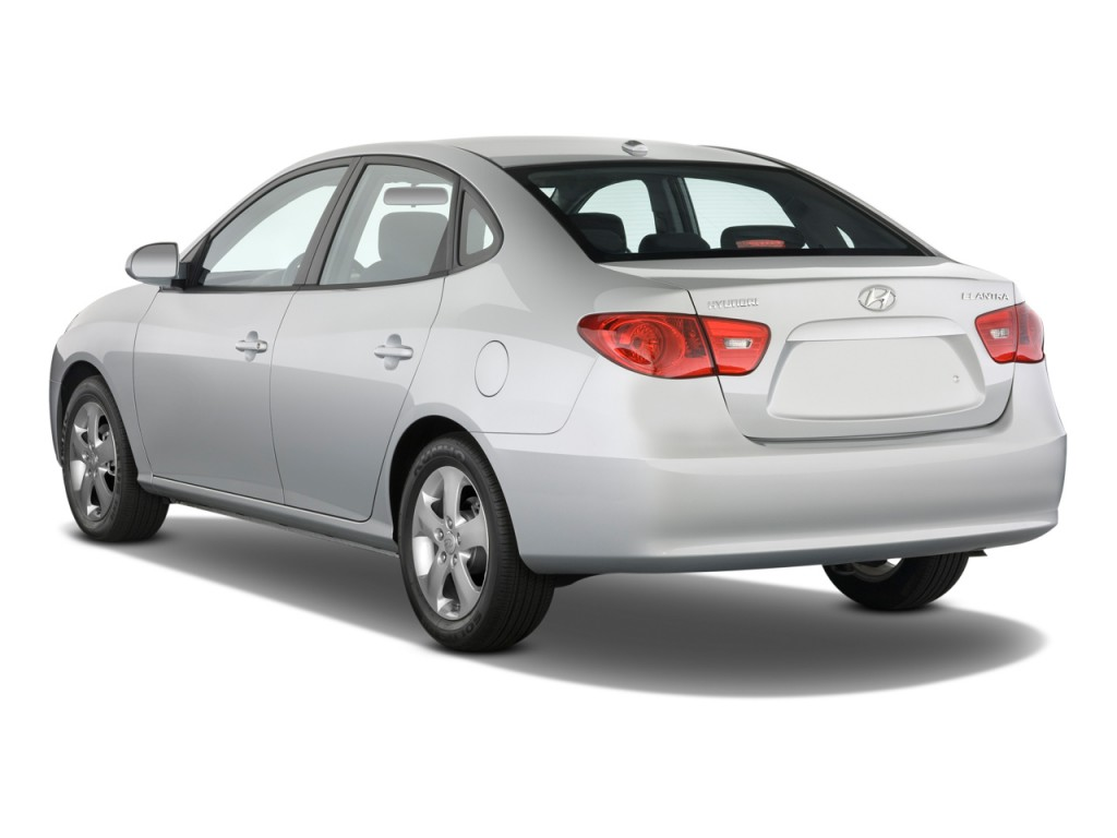 Image 2009 Hyundai Elantra 4 Door Sedan Auto Se Angular