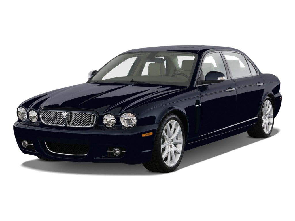 2009 jaguar xj 4 door sedan xj8 l angular front exterior view for Jaguar xj exterior