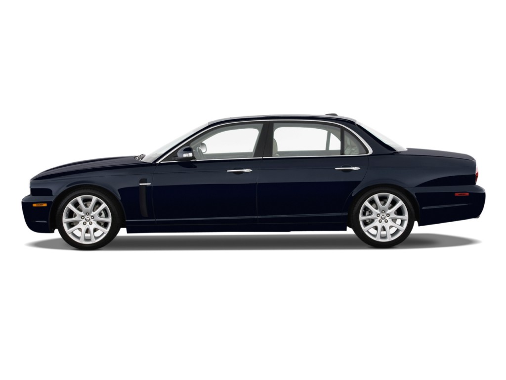 Image 2009 jaguar xj 4 door sedan xj8 l side exterior for Jaguar xj exterior