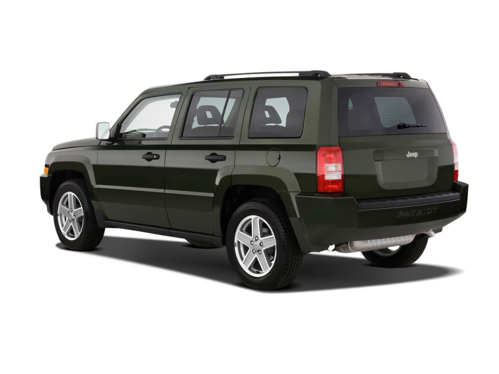 Image 2009 Jeep Patriot Fwd 4 Door Limited Angular Rear