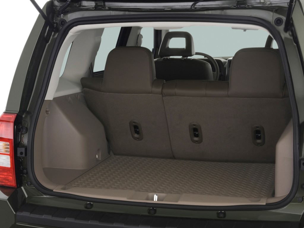 image 2009 jeep patriot fwd 4 door limited trunk size. Black Bedroom Furniture Sets. Home Design Ideas