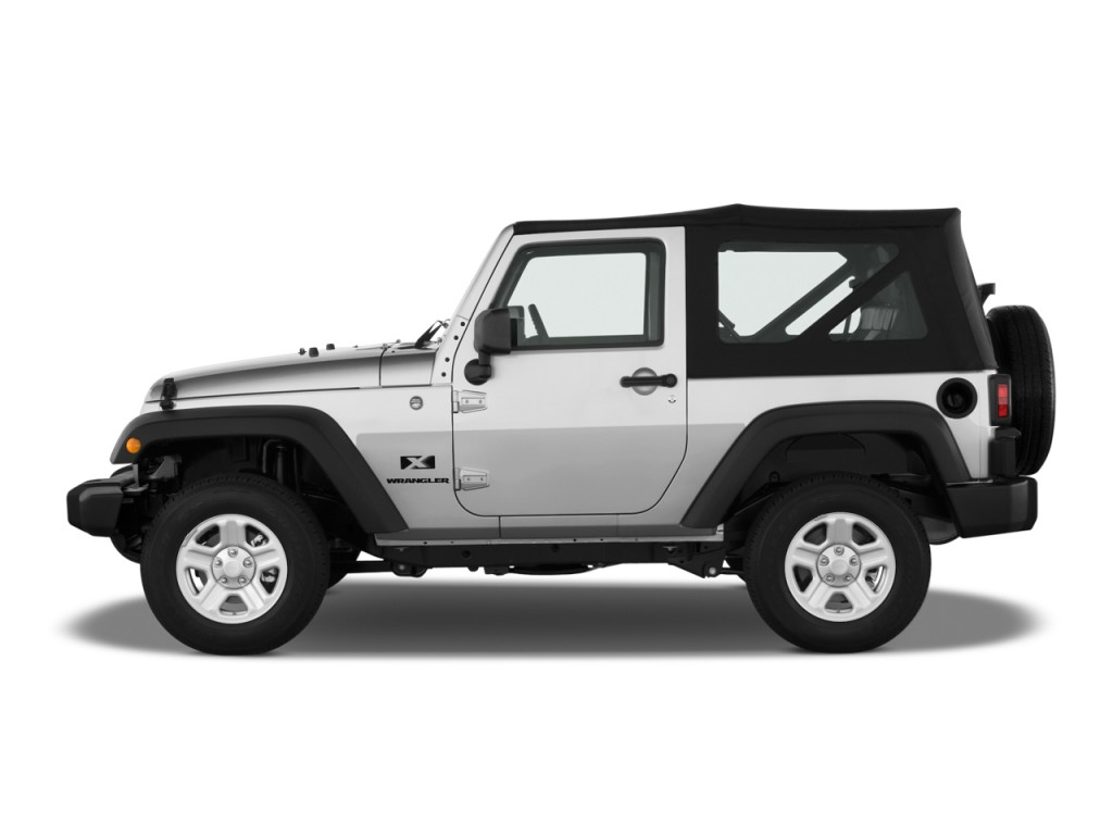 image 2009 jeep wrangler 4wd 2 door x side exterior view size 1024 x 768 type gif posted. Black Bedroom Furniture Sets. Home Design Ideas