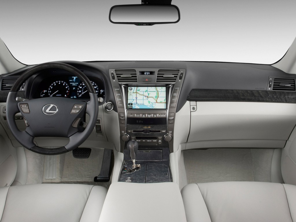 Dashboard - 2009 Lexus LS 460 4-door Sedan RWD