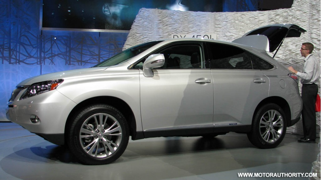 lexus prices 2010 rx 350 to start at 36 800. Black Bedroom Furniture Sets. Home Design Ideas