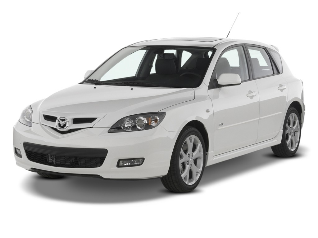 image 2009 mazda mazda3 5dr hb man s sport angular front. Black Bedroom Furniture Sets. Home Design Ideas